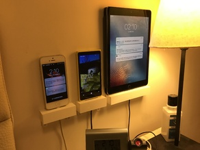 WALL-MOUNTED SOLUTION FOR TABLET/PHONE