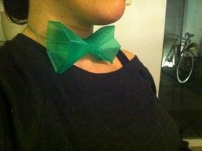 Wearable bow tie pla