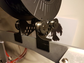 Geeetech Aluminium i3 filament roller