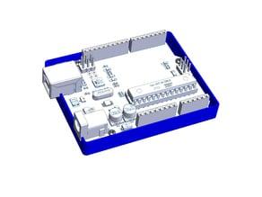 Arduino UNO case Ultra light Material saving design