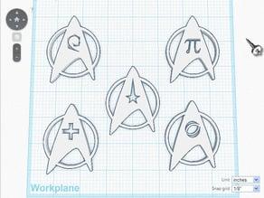 Star Trek badges-hold