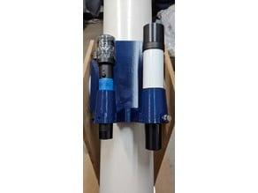 telescope finder and laser bracket