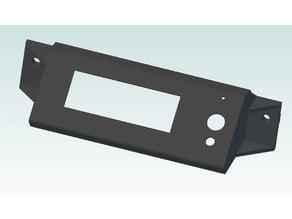 3D Printer 2004 LCD cover for AL 30x30