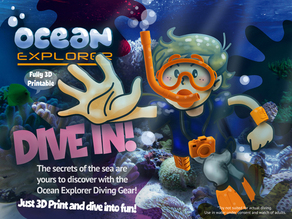 Ocean Explorer Diving Kit