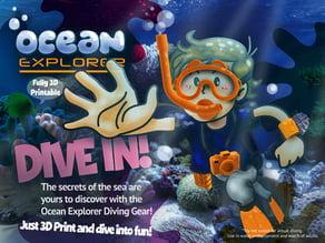 Ocean Explorer Diving Kit