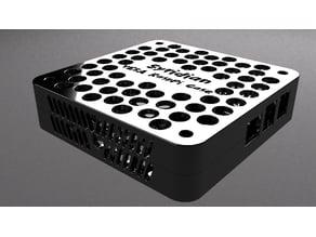 RaspberryPi 3B+ VESA 100mm mount case