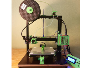 Anet A2 with z-axis in the middle