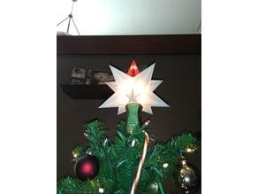 Christmas star tree mount