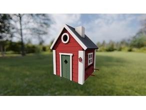 Scandinavian Birdhouse