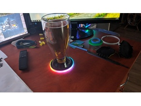 RGB LED Coaster