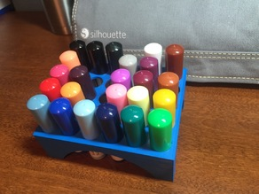 Silhouette Sketch Pen Holder (30 Pens)