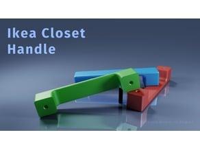 Ikea Closet Handle
