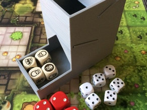 Tiny Dice Tower (no supports needed)