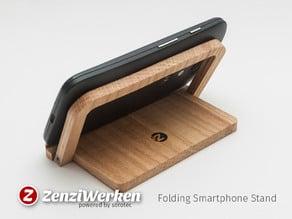 Folding Smartphone Holder cnc/laser