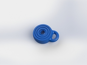 gyroscopic keyring