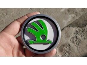 Skoda logo spherical - for multi material