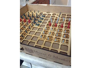 Eagles & Colours 10mm Risk Napoleonic Insert for Kallax Storage and Markers