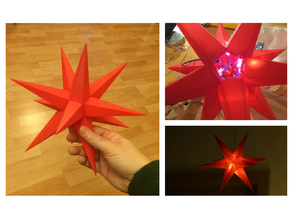 Christmas Star Puzzle 300mm