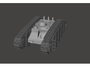 """the """"Chariot"""" a futuristic tank chassis"""