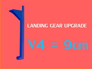 V4 DJI Phantom Landing Gear BUSTMOLD LEGS 9cm