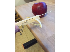 The Most Powerful Toothpick Crossbow On Thingiverse (Robbin Hood)