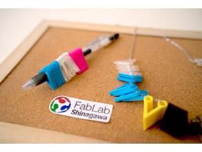 Flexible Pen Holder