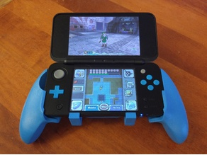 Nintendo 2DS XL Comfort Grips/Handles v2