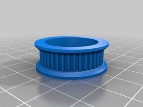T2 idler pulley 40 teeth - 608 bearing