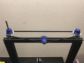 CR-10 Dual Z Pulley Setup