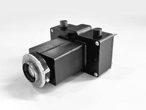 3D Printed 35mm 101mm f/4.5 Rapax Camera
