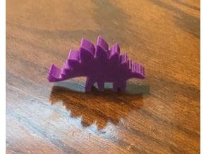 Stegosaurus Meeple