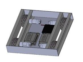 Mecanum Wheel Frame