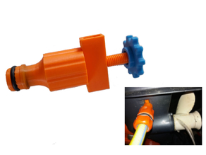 Outboard Hose Flush Attachment