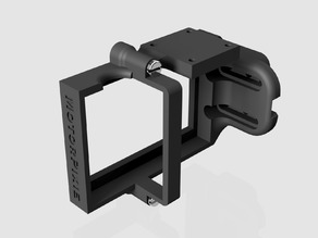 GoPro enclosure with quick mount plate