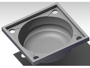 Jello/Gummy bear bowl mold 232mm diameter for large printers