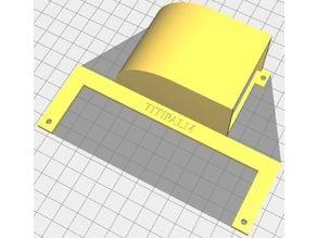 Alfawise U20 Air Flow Deflector Backwards v2.1