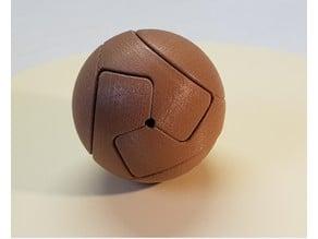 Sphere in 3 parts - kawai tsugite