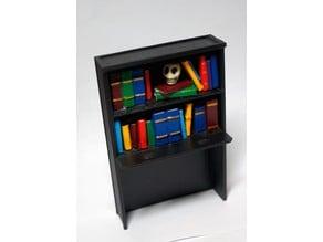 Addams Family Pinball Bookcase Mod