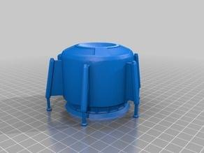 3DBear Mars Growing pod - a Collapsible Martian Base remix