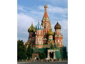 Saint Basil's Cathedral, Moscow, Red Square :: Храм Василия Блаженного