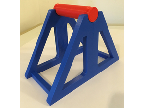 Spool Holder (Low Friction - Fully Printable)