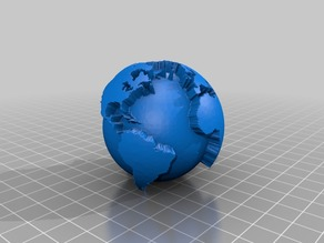 Remixed Globe for 4 color - MMU printing