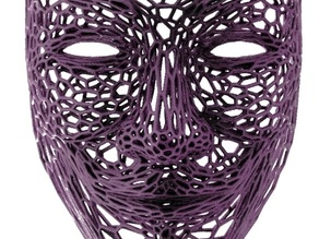 Anonymous in stile Voronoi
