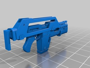 M41A Aliens Pulse Rifle 1:1 Scale