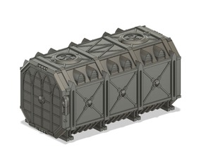 Gothic Cargo Containers compatible with Titanicus