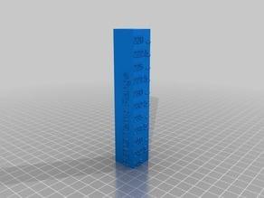 Temperature Tower - PETG Temp Range