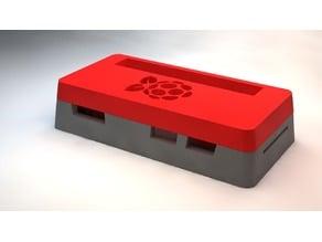 Raspberry Pi Zero Case (With Raspberry Cutout)