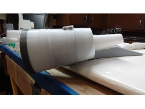 80mm EDF Cowling for 767 aircraft