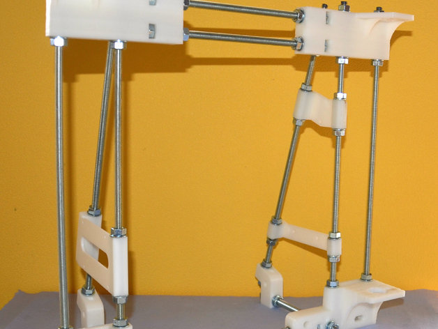 frame for 3d printer compatible with prusa i3 by martinax thingiverse