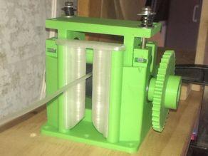 Filament Guide for Filament Extruder Puller